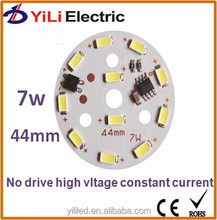 Manufacturers selling leds board 7w 220v high pressure with no drive LED
