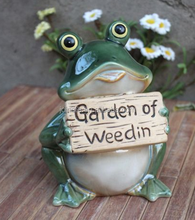 Custom resin frog shape home decoration garden decoration outdoor decoration pieces