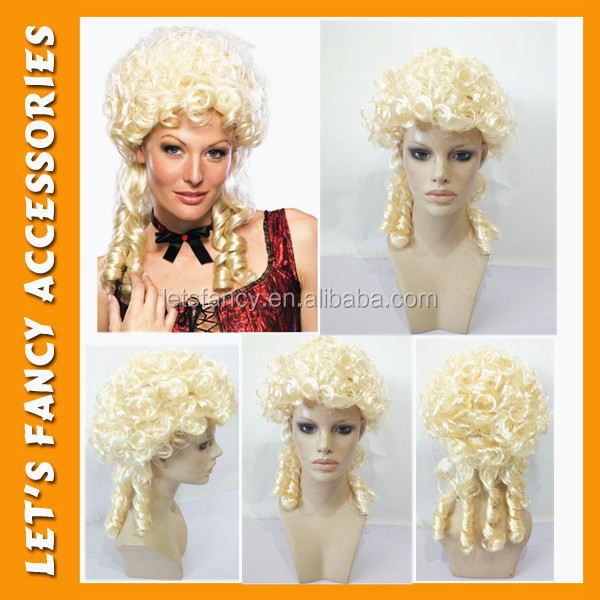 PGWG0931 China wholesale cheap synthetic Renaissance women party cosplay wig