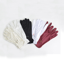 Custom Logo Printed Microfiber Cleaning Cloth Gloves for Jewelry