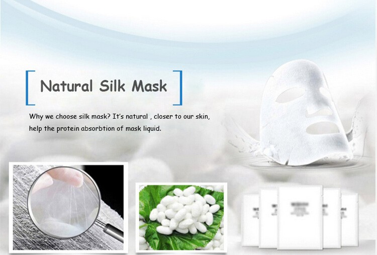 Natural de Colágeno Anti Rugas Máscara Facial Máscara de Folha de Rosto Cuidados Com A Pele