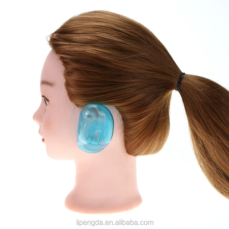 High quality Silicone Waterproof Ear Cover for Salon Protective ear cover