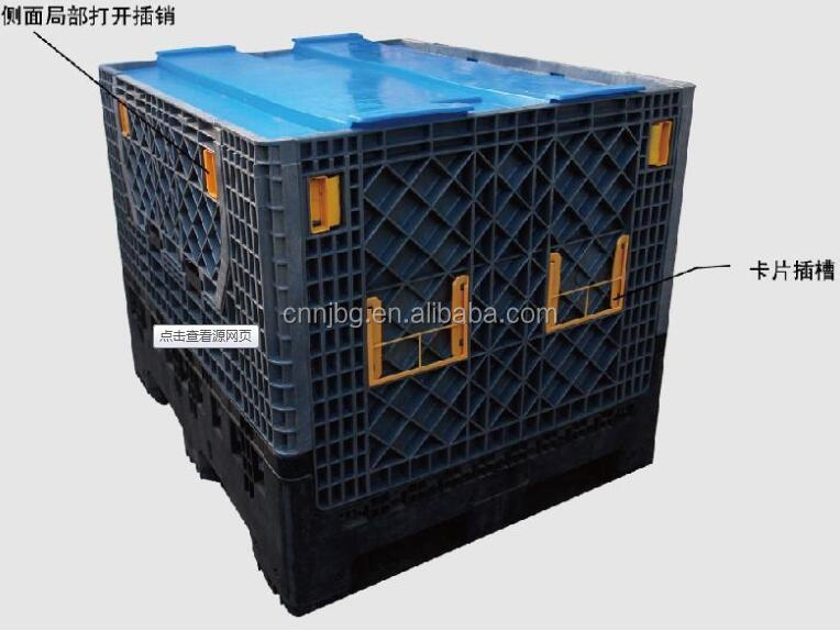 HOT Logistic plastic pallet Container