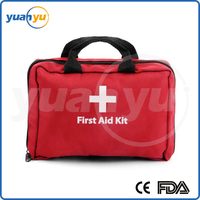 First Aid Kit for Home Car Travel Includes Eye Wash Cold Pack Emergency Blanket Earthquake Kit With EMT Approved