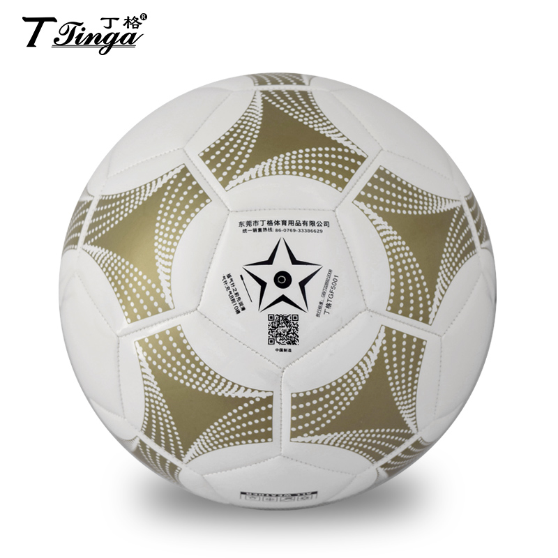 promotion!!! good quality PU football size 5 soccer 32 panels TGF5001 made in China