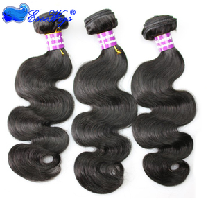 Wholesale Cheap Unprocessed cambodian hair Remy Human Hair Weave Hair Extension Bundles in Stock