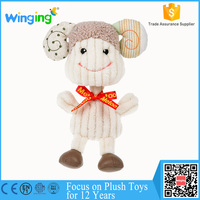 alibaba factory small funny wholesale plush kid toy baby pet toy