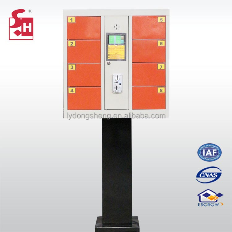 8 Doors Cellphone Charging Ipad Charging Locker Mobile Phone Lockers