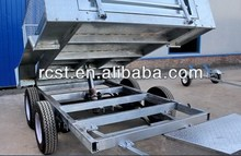 Tipping box trailer