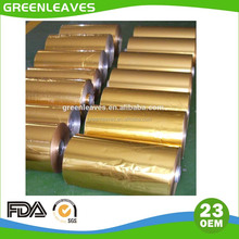 Golden Aluminum Foil Chocolate Wrapping Material Rolls
