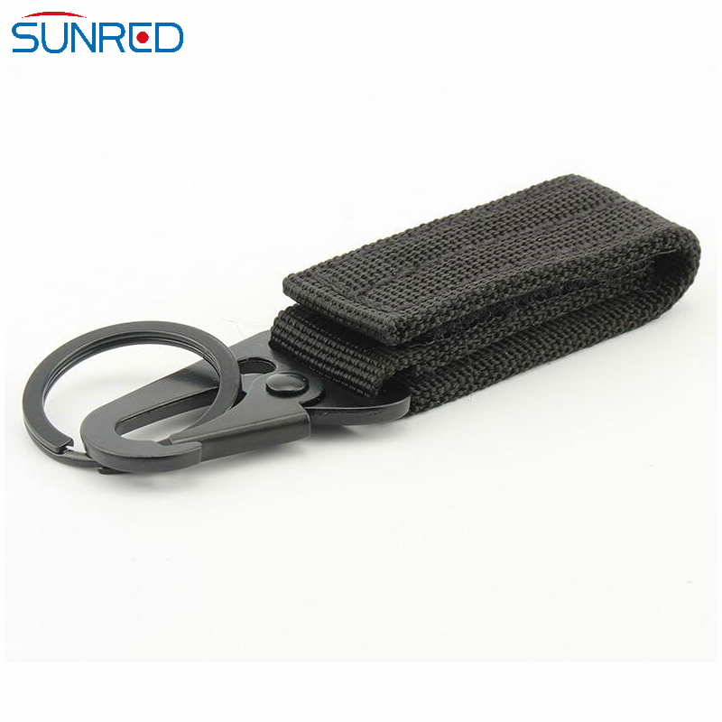 Multi-Function Outdoor Molle Eagle Mouth Hook Button Nylon Keychain Ribbon <strong>Buckle</strong>