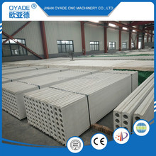 OYADE Magnesium Oxide MGO Hollow Core Insulating roof fiber cement concrete wall panel