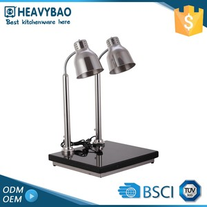 Heavybao Export Quality Stainless Steel Kitchen Equipments Heating Lamp Food