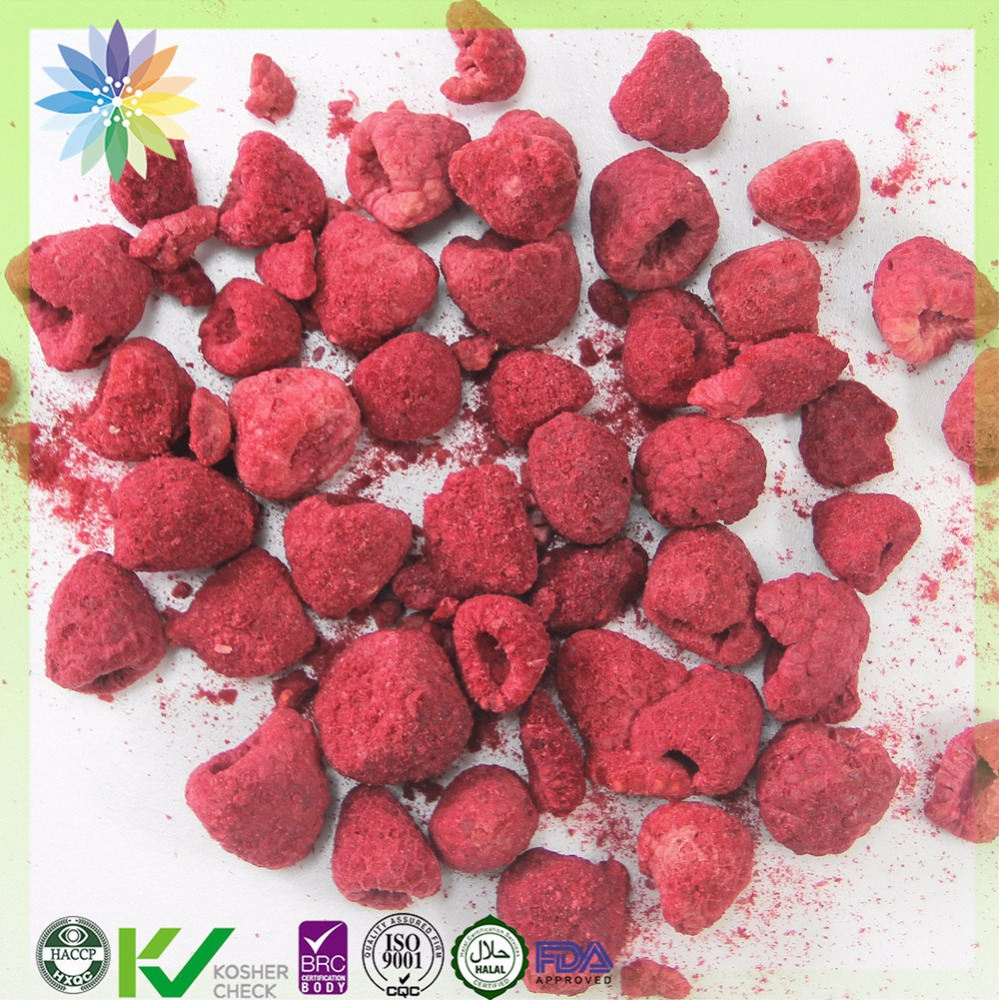 Chinese food distributors freeze dried fruits respberry