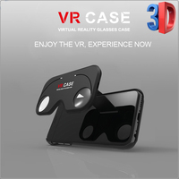 2016 Trending Products Folding Vr Case Virtual Reality mobile Case,3D glasses mobile phone cover