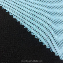 polyester Brushed Mesh Fabric for Moisture Management warm-up wear