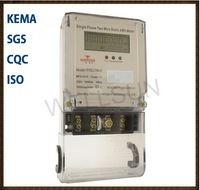 Single phase static electronic energy meter