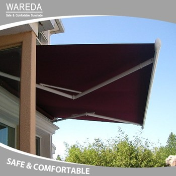 Cassette Folding arm Awning Manual Semi-cassette Awning