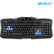wholesale professional usb wired ergonomic keyboard