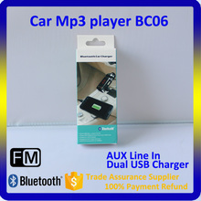 Bluetooth Car MP3 Player FM Transmitter Wireless Handsfree USB Charger Car Music Player