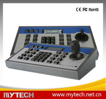 Rs485 control bus 3d joystick cctv ptz keyboard 3d control for Ptz construction