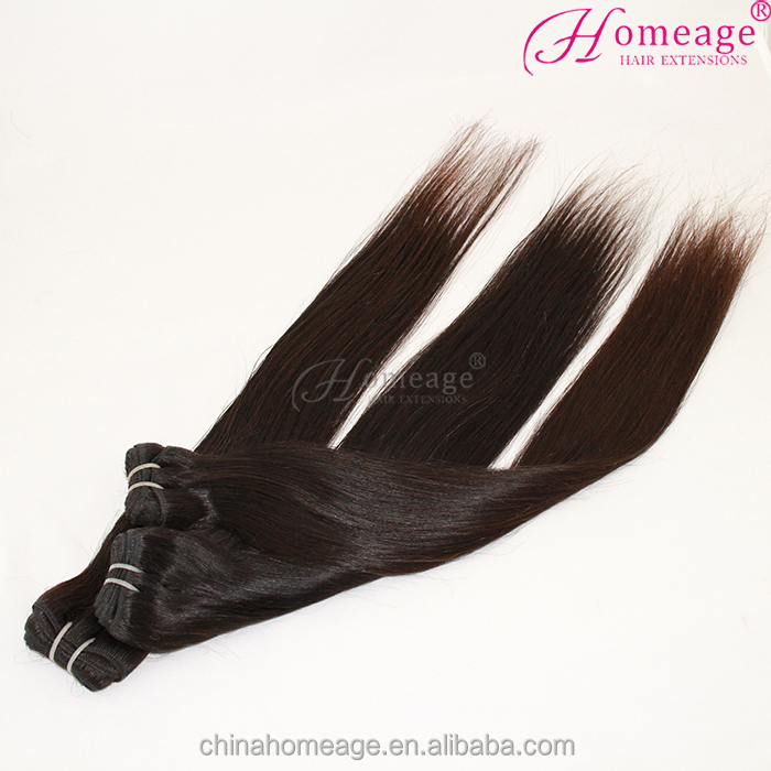 Tangle and shedding free virgin human hair weave 100% human malaysian hair extensions