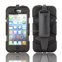 2015 New popular hard heavy duty dual Layer Shockproof Armor Case Cover For iPhone 5C