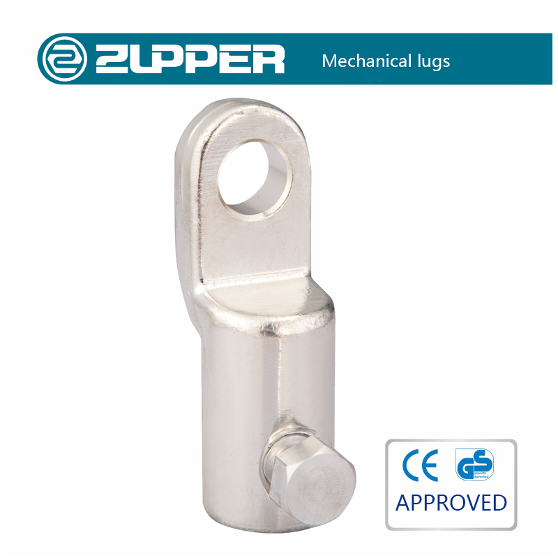Zupper AML terminal pin type aluminum mechanical lugs with all sizes cable lugs
