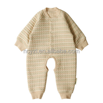 Baby clothes romper kaidang long sleeve winter three layers of warm clothing 3 months baby boy clothes