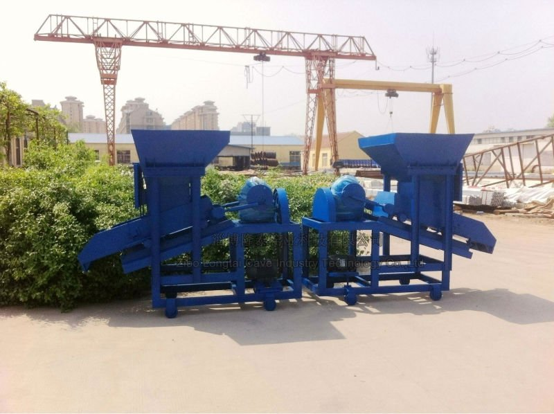 Glass Raw Material Dry Powder Hopper Screw Feeder Machine