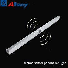 Guangdong factory price Aluminum LED liner light motion sensor specialized for carport