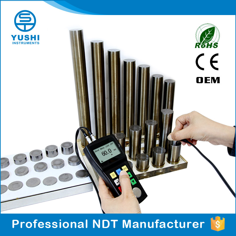 YUSHI UM-1 Chinese Measuring Range 0.1mm material thickness gauge conversion
