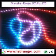 rgb side view led strip Side Emitting LED Light Strip with 335/020 RGB Side emitting LED Strip, 30LEDs, 60LEDs available.