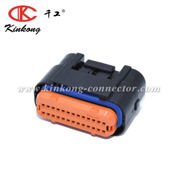 Kinkong 26 Way MX23 Series Connector Accessory Automotive Connectors Front Cap MX23A26SF1