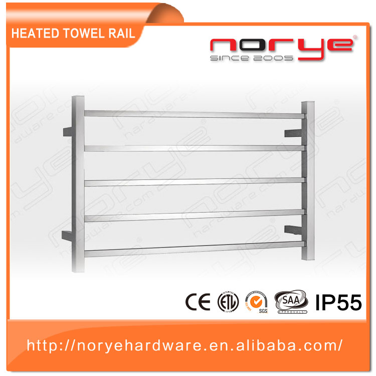 Norye professional ladder 1200 x 600 chrome towel rail