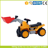 New style bulldozer and excavator truck Mainan for children