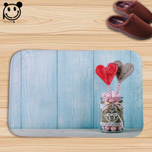 PEIYUAN Doormat Easter Eggs Floor Mat Indoor Rug Carpet Home Decor 40x60cm Valentine's Day Present Gifts Door Mat