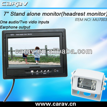 Hot selling Low price 7 inch TFT LCD Monitor for car or bus