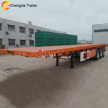 40ft 40ton container flatbed truck dimensions