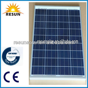 Super Quality And Competitive Price 60W poly crystalline solar panel with with TUV, CE, certificated China