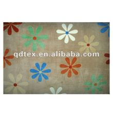 Floral printed carpet modern design