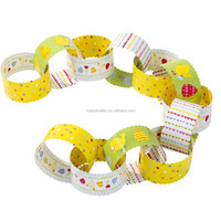 The Great Easter Egg Hunt Paper Chains for Easter Decorations Chicks Eggs Flowers