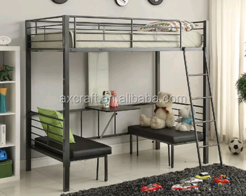 Hot selling new bunk bed designs with table