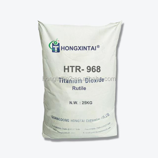 purity 98% Rutile Titanium Dioxide sulfuric acid HTR-968 general use with MSDS
