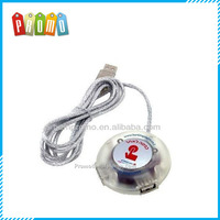 USB Smart Button with 2 port USB Hub, USB Web Key with 2 port USB Hub, USB hub Web key