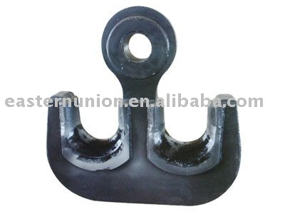 stainless steel double lifting crane hook
