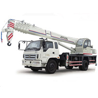 Strong Mobile Crane Lifting Machine 10 Ton with homemade Chassis