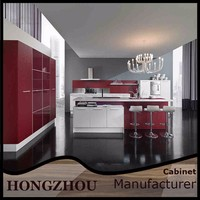 Hot Sale High Gloss Kitchen Hanging Wall Cabinet Design