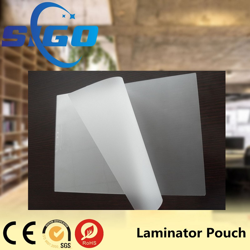 2017New Products Laminating <strong>Film</strong> A4 A3/Glossy Laminating Pouches