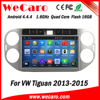 Wecaro WC-WT1013 Android 4.4.4 car dvd player HD for vw tiguan car radio 2013 2014 2015 USB SD
